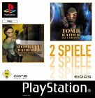 Tomb Raider 4 & 5 Double Pack (Sony PlayStation 1, 2002)