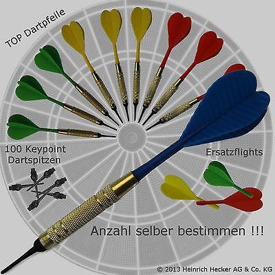Dartpfeile Softdart Arrow Dart TOP Pfeile mit PVC Flight und Schaft mit Zubehör