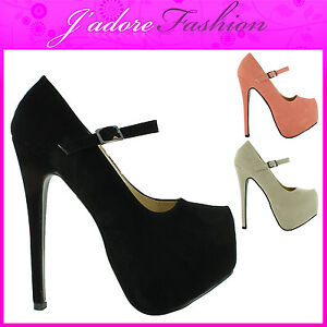 NEW-LADIES-STILETTO-HIGH-HEEL-CONCEALED-PLATFORM-COURT-SHOES-SANDALS-SIZE-UK-3-8