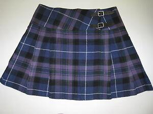 Pride of Scotland Tartan Scottish Billie MINI Skirt Ladies Waist Sizes 26 - 40