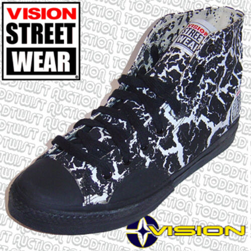 Skateboard Shoes 5 '80s Old Street Crackle Hi Uk School Vision Wear Top 4 Usa qPfawxXwYz