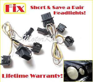 96 00 mercedes e55 e300 e320 e430 headlight wire harness