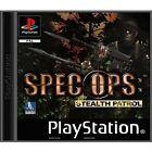 Spec Ops: Stealth Patrol (Sony PlayStation 1, 2000) - US Version