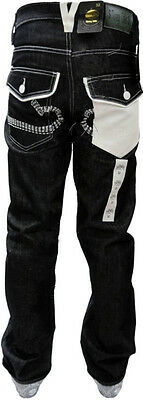 "NEW MONEY TALKS MENS FIT JEAN TROUSER STYLISH POCKET 32"" 34"" 36"" 38"" 40"" 42"" 44"""