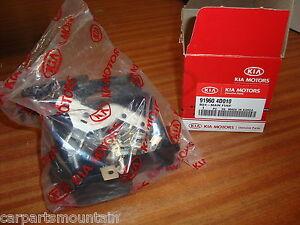 genuine kia main fuse box kit part no 91960 4d010 fits sedona image is loading genuine kia main fuse box kit part no