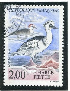 Belle Stamp / Timbre France Oblitere N° 2785 Faune / Harle Piete /