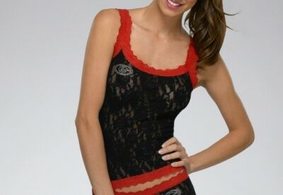 Hanky Panky University of Georgia Bulldogs Camisole Lace Top College NCAA Cami