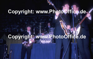 Beatles-Toronto-65-rare-12-x-18-concert-photo-poster-John-Lennon-Paul-McCartney