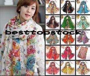 Hot-15-color-Women-cotton-Scarf-Wraps-Shawl-Stole-Soft-Scarve-Flower-Super
