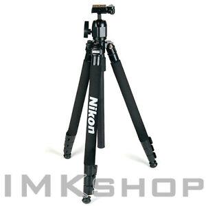 NEW-Nikon-Camera-Tripod-65-Ball-Head-w-Case-for-DSLR-SLR-Canon-Sony-Fuji