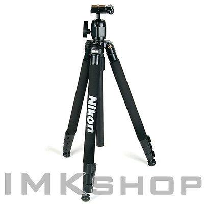 "NEW Nikon Camera Tripod (65"") + Ball Head w/ Case for DSLR SLR Canon Sony Fuji"
