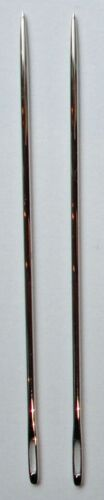 "4.5/"" JAPAN 4/"" 2 x TW THICK EXTRA STRONG Nickel Plated Hand Sewing Needles 3/"""
