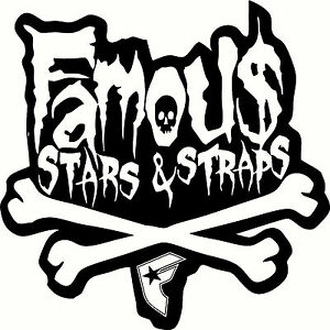 Famous Stars & Straps BMX Windscreen, Wall, Mirror Sticker ... Famous Stars And Straps Logo Green