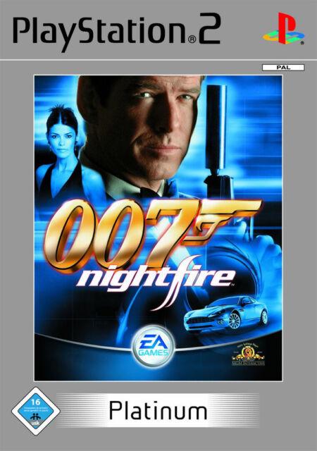 James Bond 007 Nightfire mit Anleitung (PS2) - DVD wie Neu
