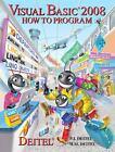 Visual Basic 2008 How to Program by Deitel and Associates Inc. Staff and Paul J. Deitel (2008, Paperback)