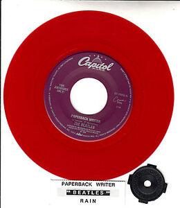 BEATLES-Paperback-Writer-Rain-RED-VINYL-RARE-45-rpm-7-BRAND-NEW-record