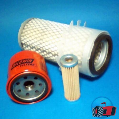 FLK5201 Oil Fuel Air Filter Kit Kubota B5100 B6100 B7100 Tractor & B6200 B7200