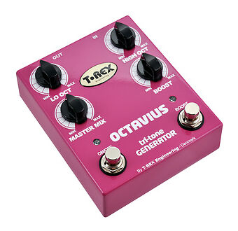 t rex octavius octave guitar effect pedal for sale online ebay. Black Bedroom Furniture Sets. Home Design Ideas