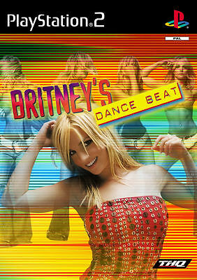 Britney's Dance Beat (Sony PlayStation 2, 2002, DVD-Box)