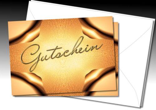 DigitalOase Gutscheine zum Verschenken Geschenkgutscheine Umschläge #245