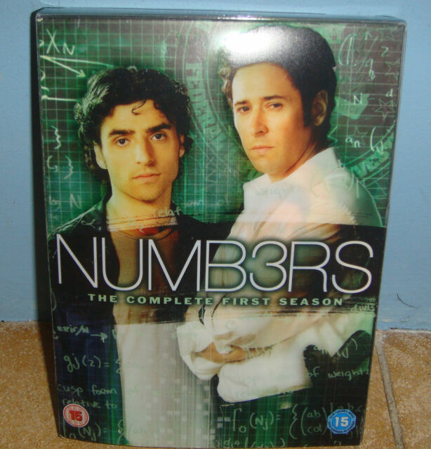 NUMB3RS COMPLETE FIRST SEASON (4 DISC) DVD BOXSET