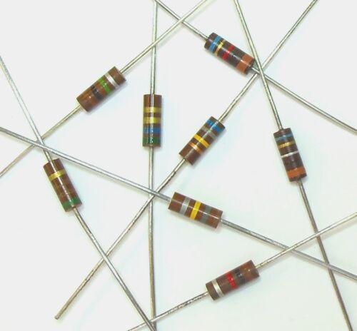 Lot of 10 Carbon Comp 500mW 39K 1//2W 5/% Carbon Composition Resistor