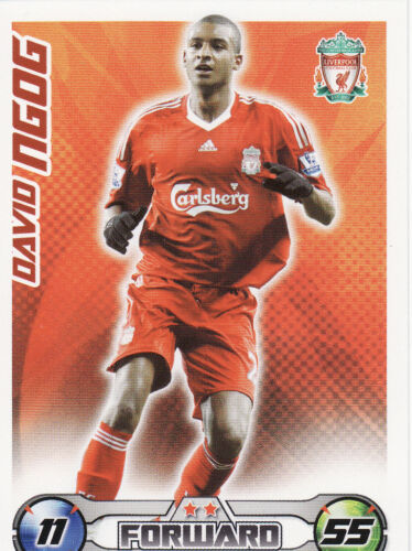 Match Attax Extra 08//09 Liverpool Man City Cards Pick Your Own From List