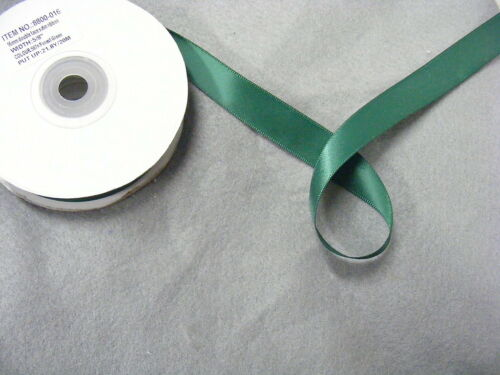 Ribbon Satin Forest Green 16mm x 20 metres