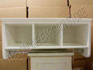 Pottery Barn Laundry Cabinet Wall Display Cubby Shelf
