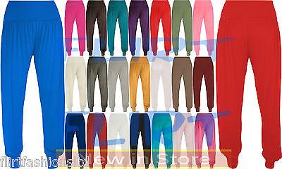 Womens Ali Baba Legging Aladdin Full Length Baggy Hareem Trouser Pant 8 10 12 14