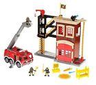 Fisher-Price Imaginext Firestation & Fire Engine - 6DE46355
