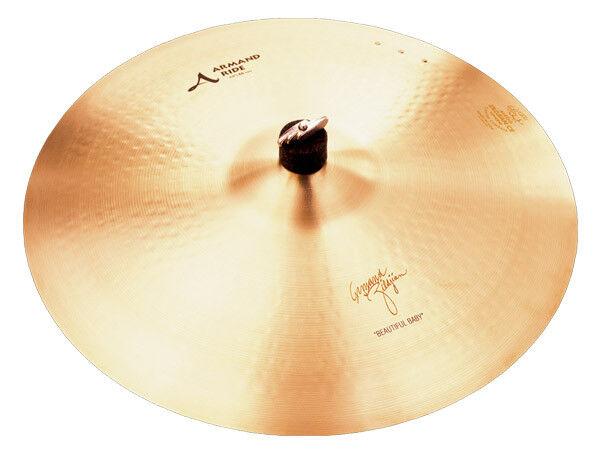 Zildjian Armand 'Beautiful Baby' Ride With 3 Rivets A0044 Cymbal 19