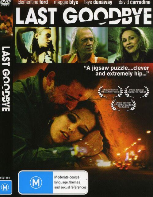 LAST GOODBYE dvd FAYE DUNAWAY  DAVID CARRADINE  CLEMENTINE FORD   MAGGIE BLYE