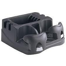 American Motorhome RV Black Centre Console ,Adjustable Drink - CD- Coin Holder
