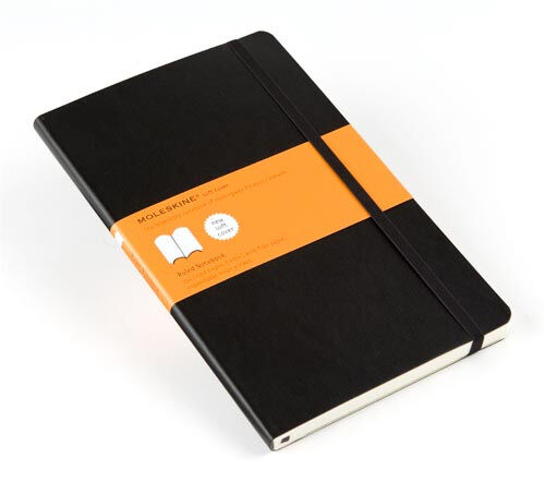 Moleskine - Large Ruled/Lined Notebook, 13 x 21 cm Soft Cover