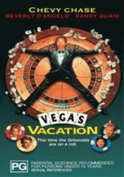 National Lampoon's Vegas Vacation (DVD, 2003) Chevy Chase PG