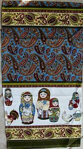 Russian-tablecloth-nesting-Matrioshka-dolls-chickens-balalaika-farm-decoration