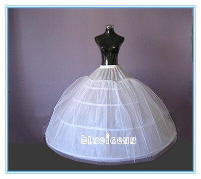 NEW 4 HOOP 1 LAYER NET HUGE ball gown Slip Petticoat crinoline