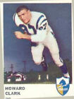 1961 Fleer Howard Clark 159 Football Card