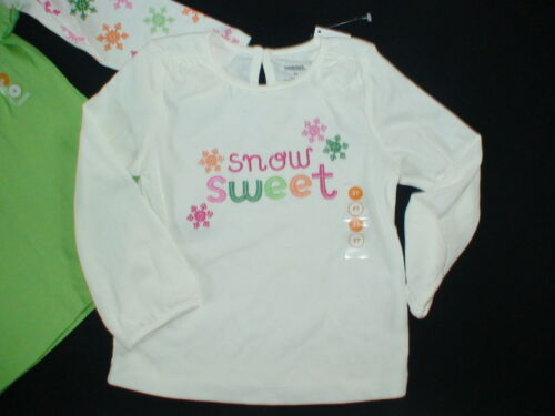 NWT GYMBOREE CHEERY ALL THE WAY SNOW SWEET CHEERFUL SNOWFLAKE SNOW TOPS