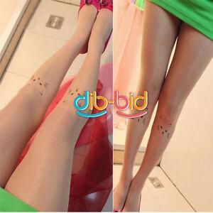 Cat-Pattern-Girls-Kawaii-Transparent-Tattoo-Stockings-Pantyhose