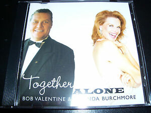 Image Is Loading Bob Valentine Amp Rhonda Burchmore Together Alone CD