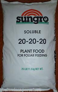 Sungro-Souluble-Plant-Food-20-20-20-25lb-Guaranteed-Analysis-Gen-Jacks
