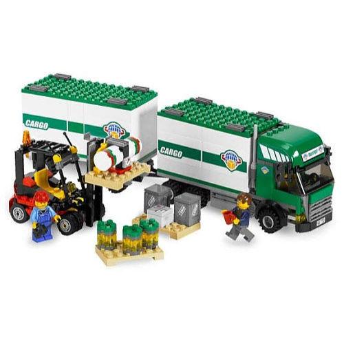 Lego City Transport Truck Forklift 7733 Ebay