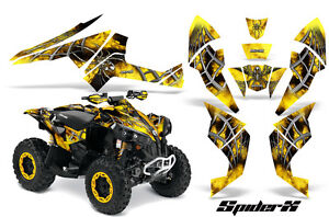 Can-Am-Renegade-Graphics-Kit-by-CreatorX-Decals-Stickers-SpiderX-Yellow-BY