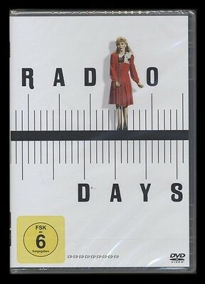 DVD RADIO DAYS - WOODY ALLEN + MIA FARROW *** NEU ***