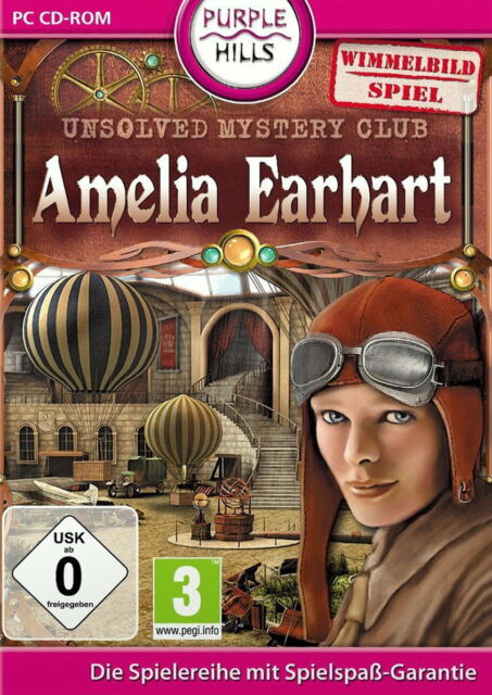 Unsolved Mystery Club: Amelia Earhart (PC, 2010, DVD-Box)