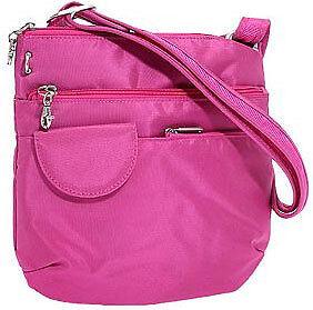 Travelon-Anti-Theft-Crossbody-Lightweight-Shoulder-Bag-Travel-Handbag-Hot-Pink