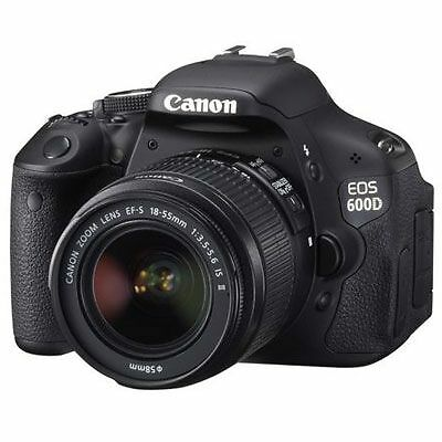Canon EOS 600D BODY + 18-55mm lens IS II  FREE 16GB CLASS 10! VG