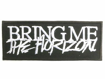 BRING ME THE HORIZON Logo Deathcore Metal Patch FREE SHIPPING